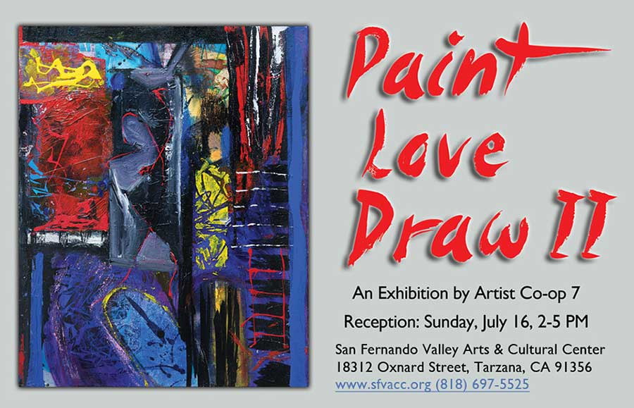 Paint Love Draw II an exhibition by Artist Co-op 7